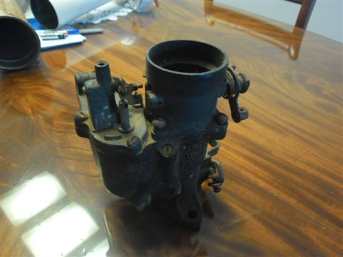 Part Carburetor Carter Chevrolet