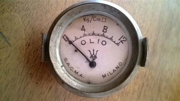 Part Pressure Gauge Oil Maserati