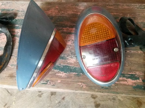 Part Taillights Vw Beetle 1963