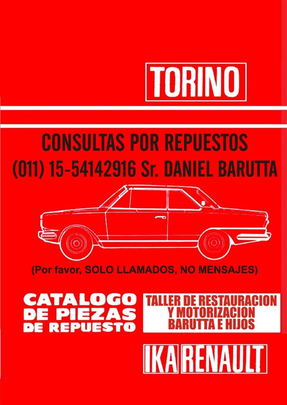 Part Spare Parts Torino