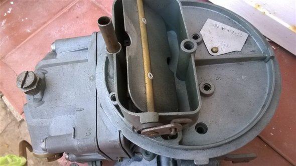 Part Carburetor Holley F100 V8