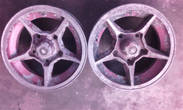 Part Rims 15 Torino Alloy Aluminum