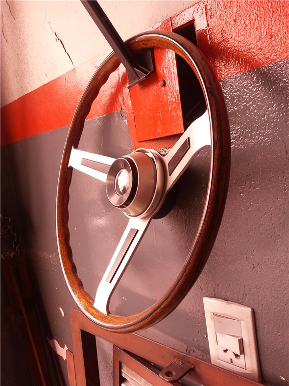 Part Steering Wheel Peugeot 404 Grand Prix