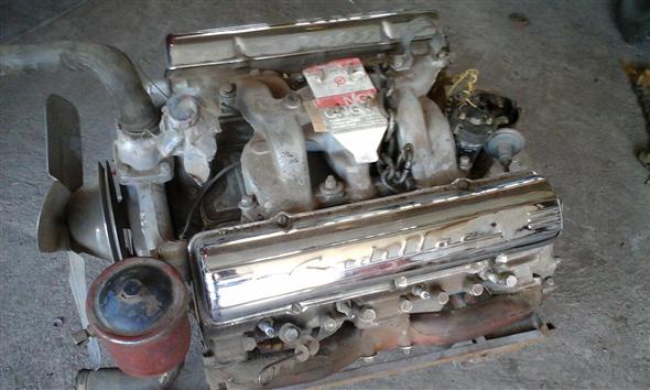 Part Cadillac Engine