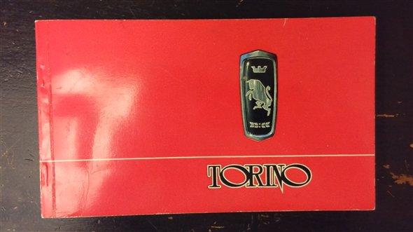 Part Owner Manual Torino 300/380