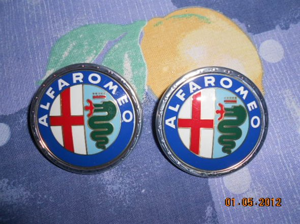 Part Game Logos Alfa Romeo Alfetta Gt/gtv