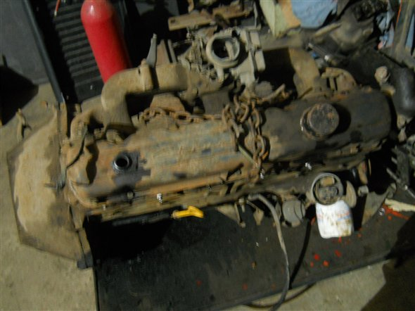 Part Chevy 230 Motor