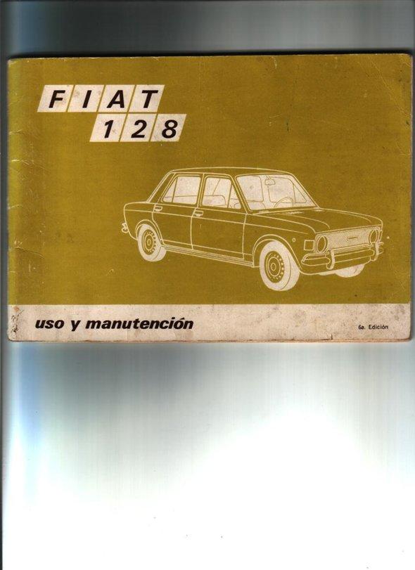 Repuesto Manual Uso Manutención Fiat 128