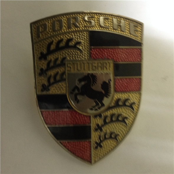 Repuesto Escudo Capot Porsche