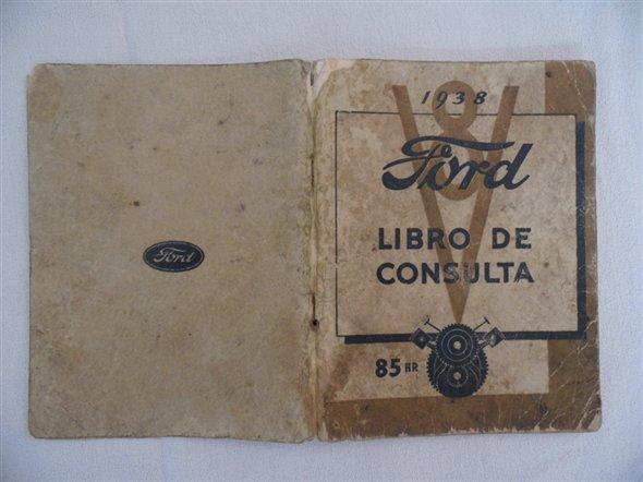 Repuesto Manual Consulta Antiguo Ford V8 1938