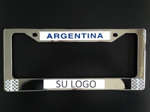 Repuesto Porta Patente Metal Cromado
