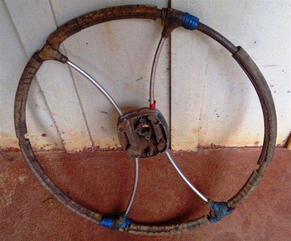 Part Old Steering Wheel
