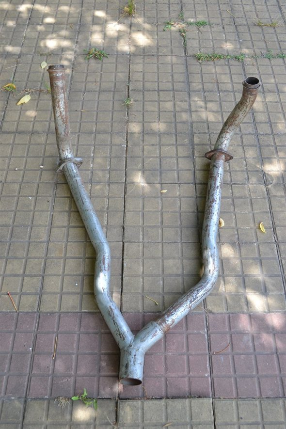 Part Exhaust Pipe Ford Fairlane V8 292 Phase 2 Ii