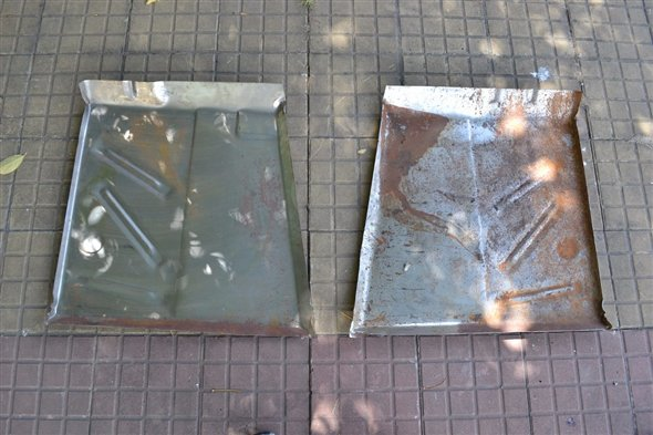 Part Lot Floor Front Ford Falcon Left And Right