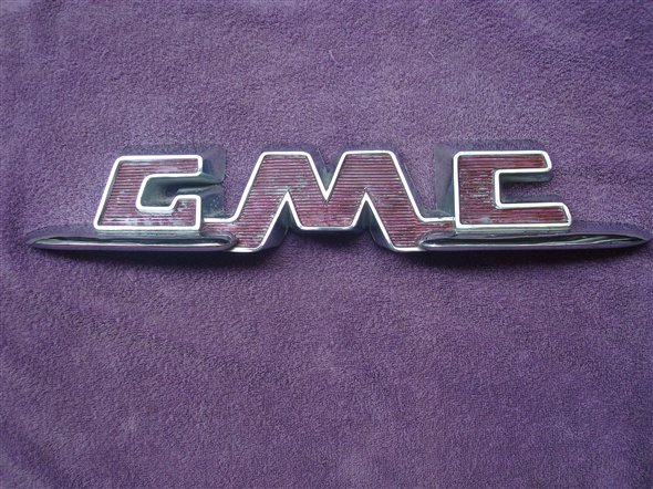 Part Badge Pick Up Gmc