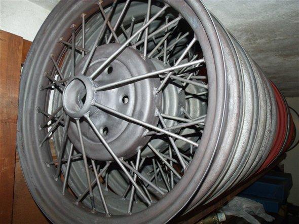 Repuesto Llantas Ford A Restauradas