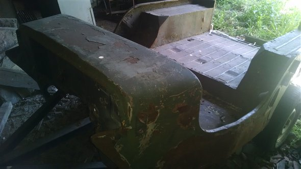 Part Punt Jeep Willys