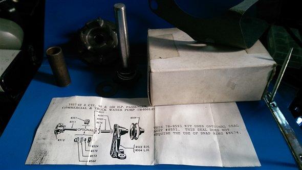 Repuesto Reparación Bomba Agua