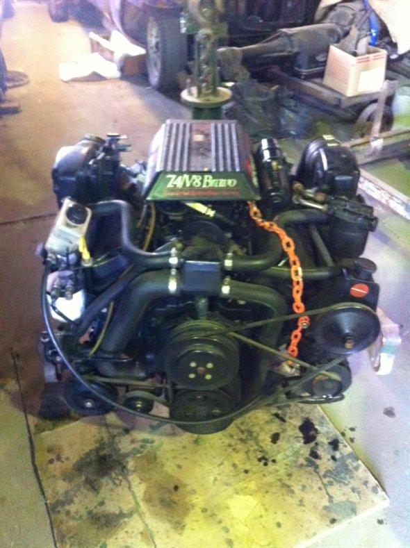 Part Motor V8 Chevrolet