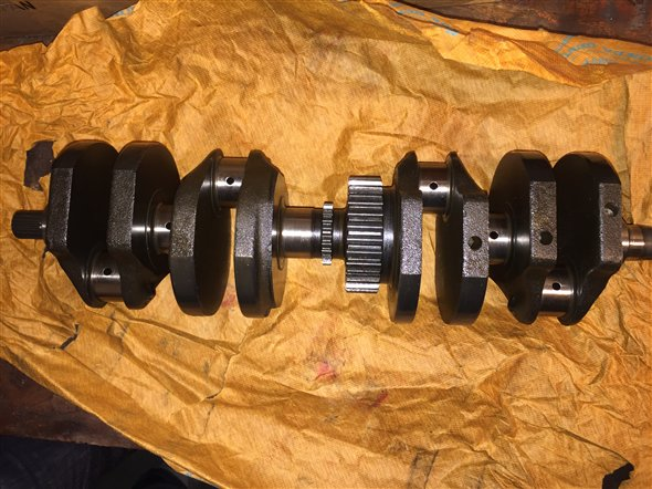 Part Crankshaft Honda Cb900 F Boldor