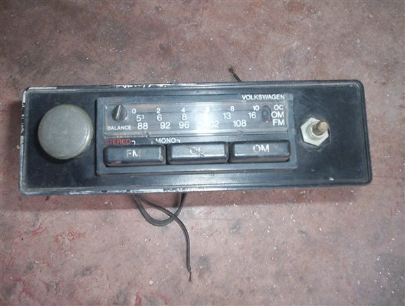 Part Volkswagen Radio