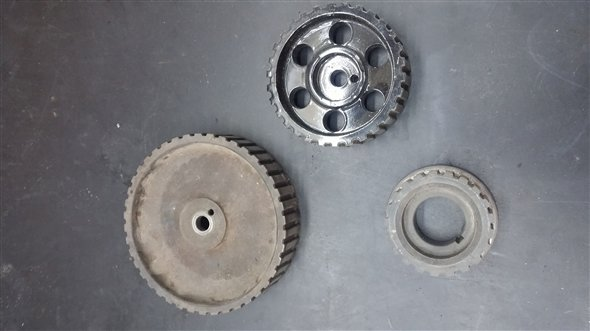 Part Game Engine Pulleys Fiat 1.1/1.3 (128, 147, Regatta)