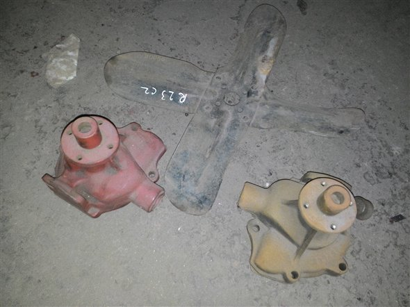 Part Water Pump Dodge Continental