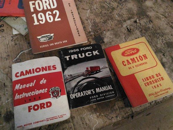 Repuesto Manuales Camión Antiguo Ford