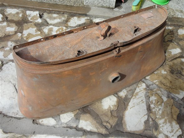 Part A ford Fuel Tank