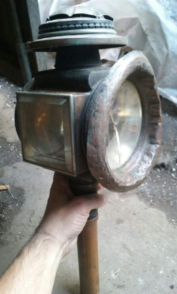 Part Carriage Lantern
