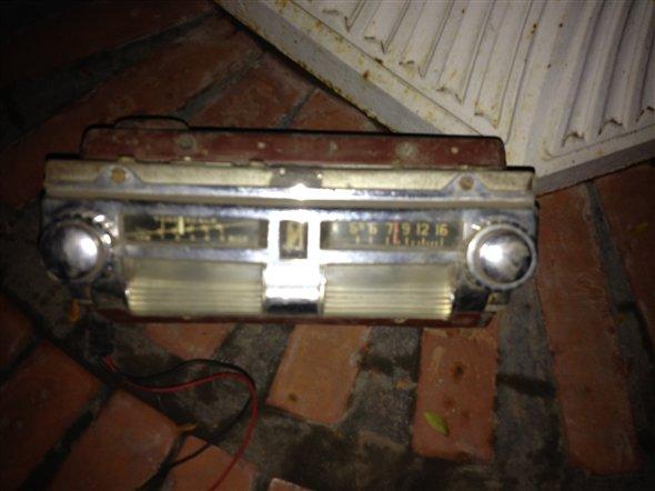 Part Radio Mercury 1940