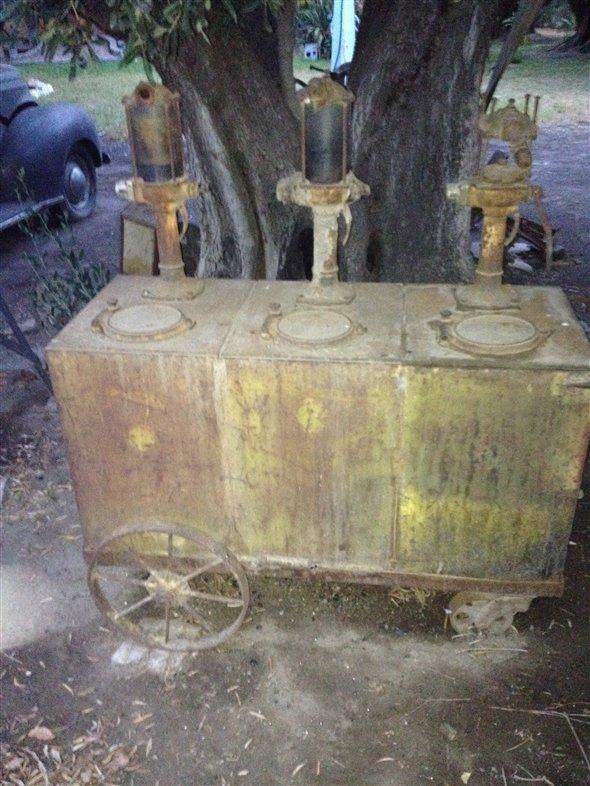 Part Old Machine Fuel Vending