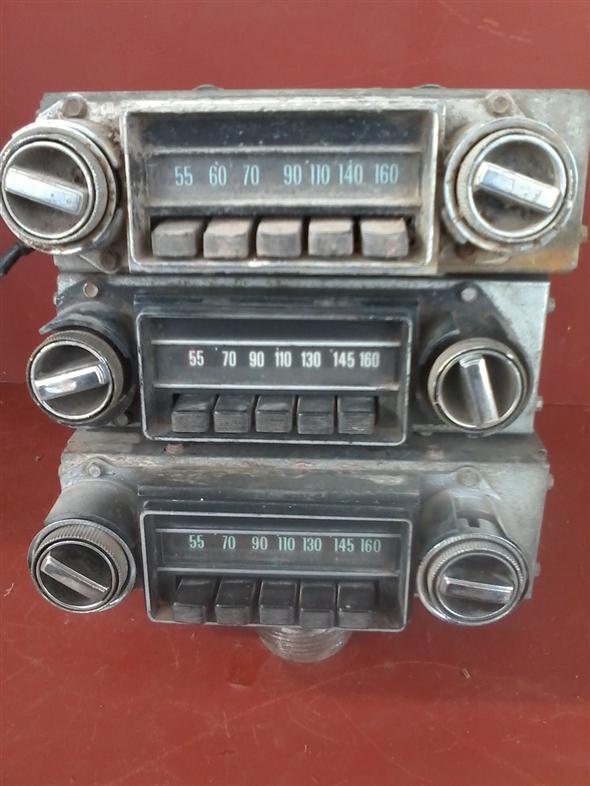Part Radios Chevy