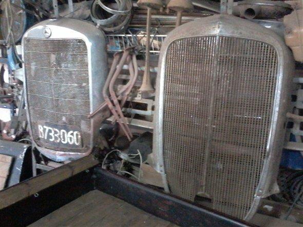 Repuesto Máscara Chevrolet 1933