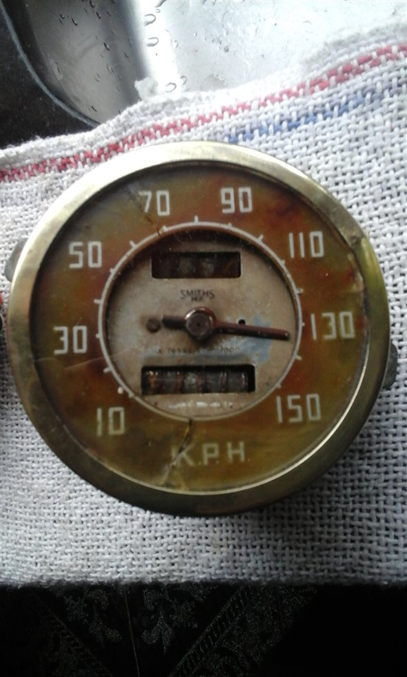 Part Smiths Speedometer