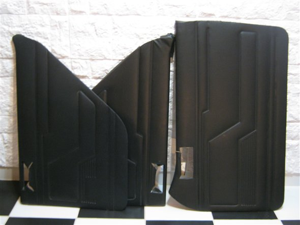 Part Upholstered Panels Door Renault 12 Black
