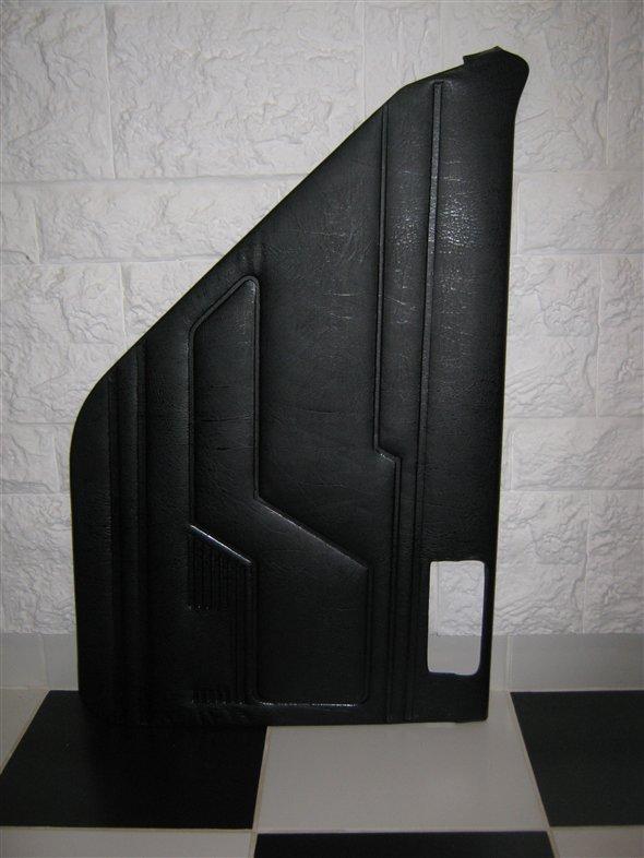 Part Trim Panel Door Renault 12 Black