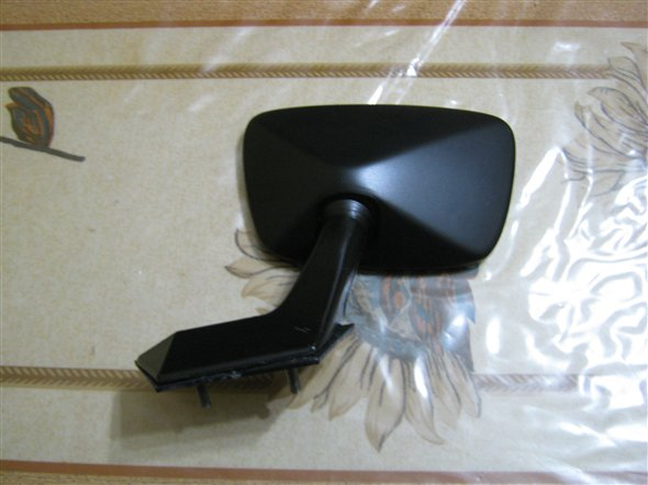 Part Ideal Black Rearview Mirror Fiat 128 Saloon Iava
