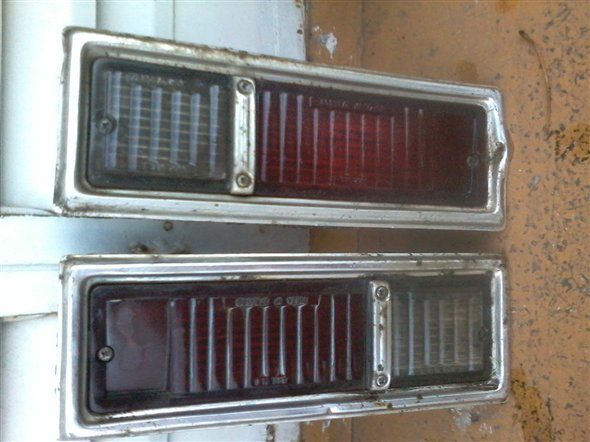 Part Chevy Headlights