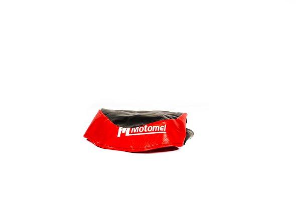 Funda Asiento (ngo/rojo) Motomel B110