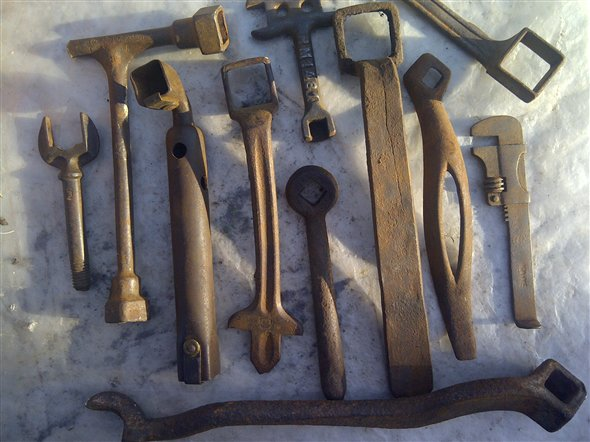 Part Very Old Tools