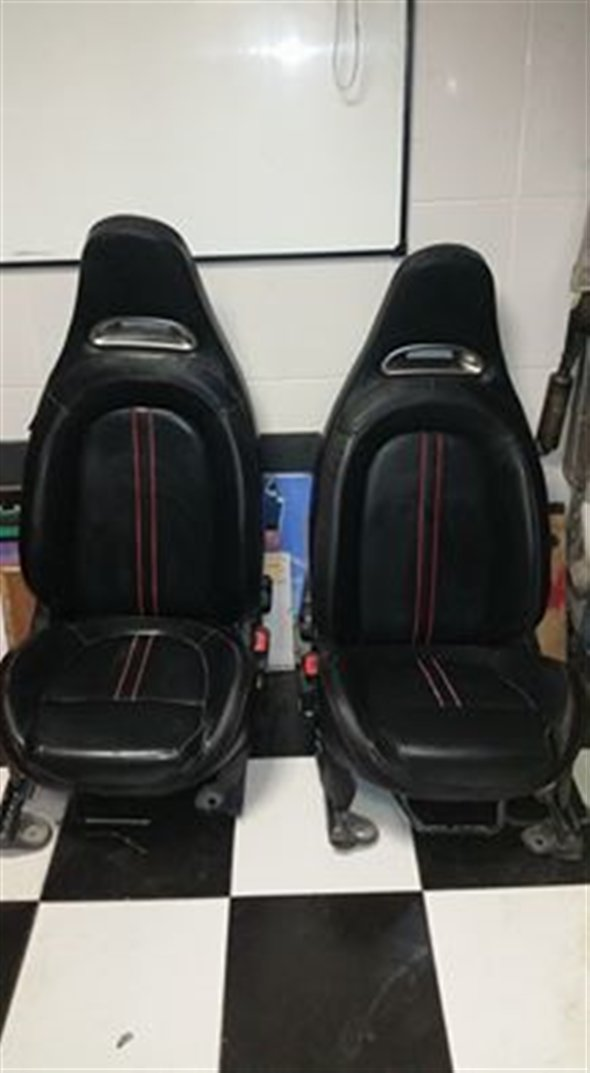 Part Fiat 500 Abarth Convertible Seats