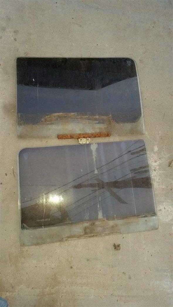 Part Glass Door Vw Combi