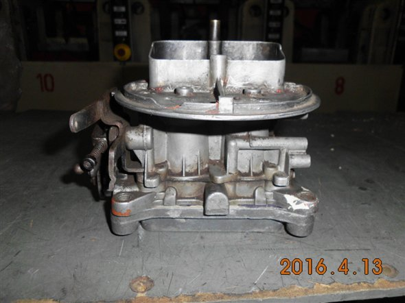 Part Adapter 40/40 Holley Carburetor