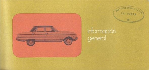 Part Manual Ford Falcon