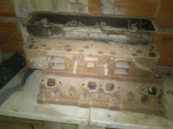 Part Motor V8 Ford Phase 1