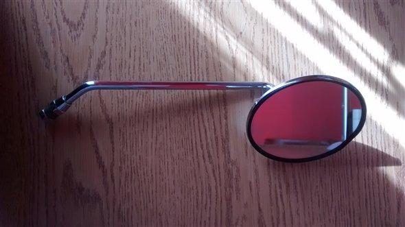 Repuesto Espejo Redondo Antiguo Moto