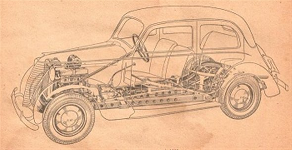 Repuesto Manual Fiat Balilla 1940