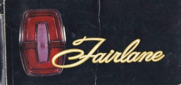 Part Manual Ford Fairlane