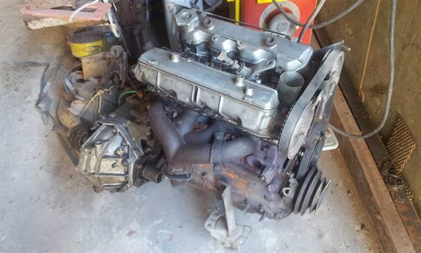 Part Motor Box 5th. Lancia Beta 2000
